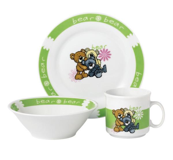 Набор для детей Limited Edition Bear 3 предмета фарфор (D1216)