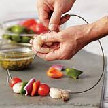 Огнеупорные гибкие шампура из высококачественной пищевой нержавеющей стали  Big Green Egg (FW / 201348), фото 2