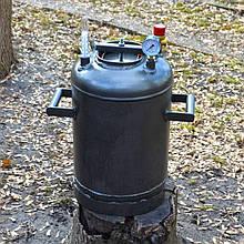 """Автоклав побутовий для консервування РБ-21 """"Троян"""" вогневої на 21 банку з термометром і манометром вогневої"""
