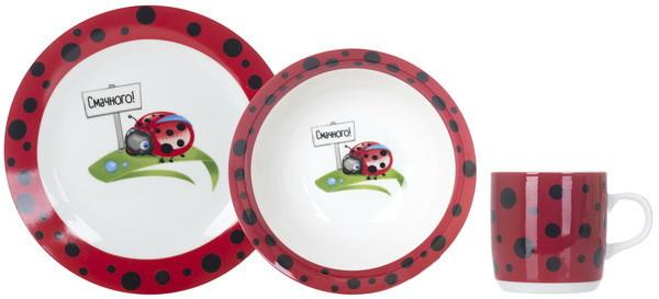 Набор для детей Limited Edition Ladybird 3 предмета фарфор (C147)