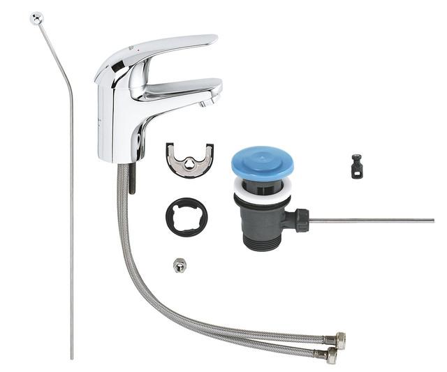 Змішувач для раковини Grohe Euroeco 23262000