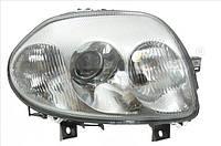 Фара ліва RENAULT CLIO, THALIA 02.98-06.01. TYC 20-6194-05-2