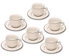 Thun набір чайний Catrin (2317100) на 6 персон 12 предметів 270мл фарфор (2317100)