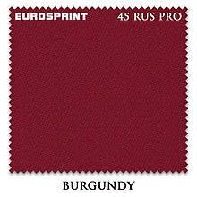 Сукно Eurosprint 45 Burgundi для бильярдных столов
