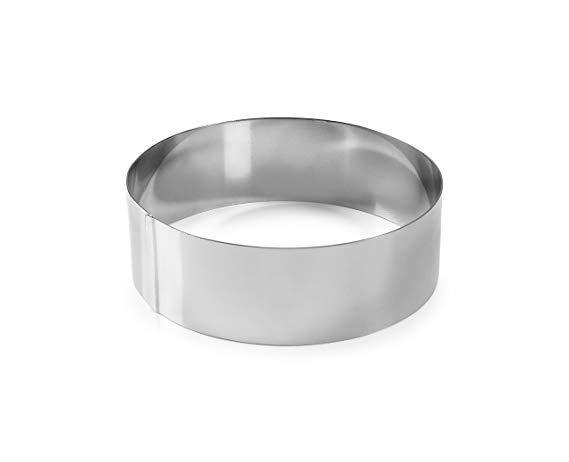 Форма кондитерская Lacor  круглая d14 см h4,5 см нержавейка (68514 L)
