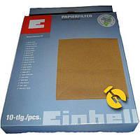 Набор фильтров мешков для пылесоса строительного 12л 10шт Einhell 2351100