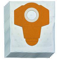 Набор мешков для пылесоса строительного 25л 5шт Einhell 2351190