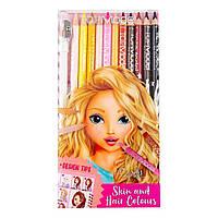 """Набор цветных карандашей """"Лицо и волосы"""" Top Model (4010070401603)"""