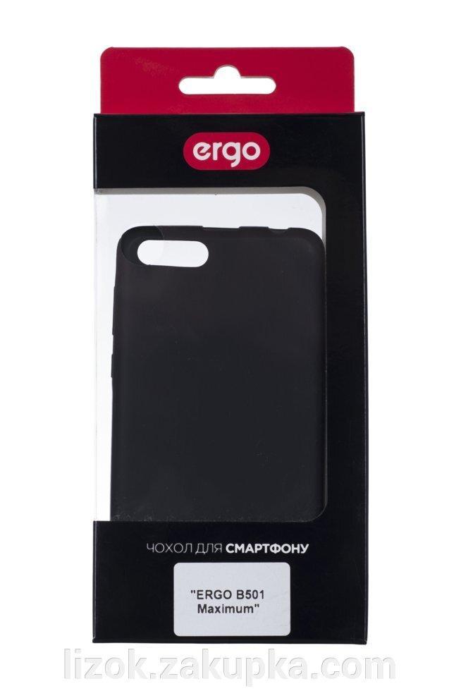 Чехол ergo B501 maximum - shiny black