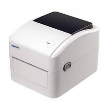 Принтер этикеток Xprinter XP-420B-UL белый (XP-420B-UL)