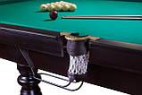 Бильярдный стол Мрия Нова Люкс размер 9 футов игровое поле Ардезия из натурального дерева Стандартная, фото 7