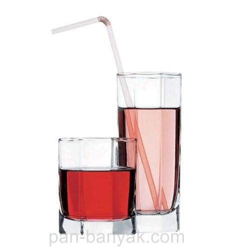 Набор стаканов низких Pasabahce Kosem 6 штук 200мл d7,2 см h8,2 см стекло (42035)