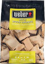 Щепа для копчения Weber Яблоко 0.7 кг (17621)