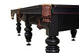 Бильярдный стол Классик размер 11 футов игровое поле Ардезия для игры в Снукер, фото 7