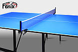 """Теннисный стол для помещений """"Феникс"""" Basic M16 синего цвета, фото 5"""