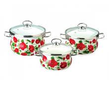 Набір посуду Epos Каркаде 6 предметів емаль (№1000 Каркаде)