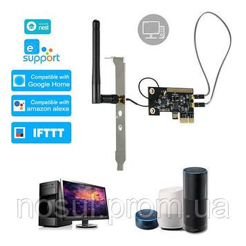 EWeLink SANT-SUC01 (Sonoff) Mini PCI-e WiFi плата управления удаленной перезагрузки включения выключения ПК