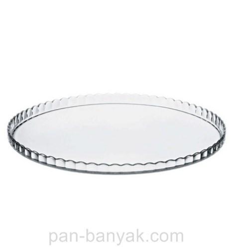 Тортница Pasabahce Patisserie d26 см h1,6 см стекло (10352)