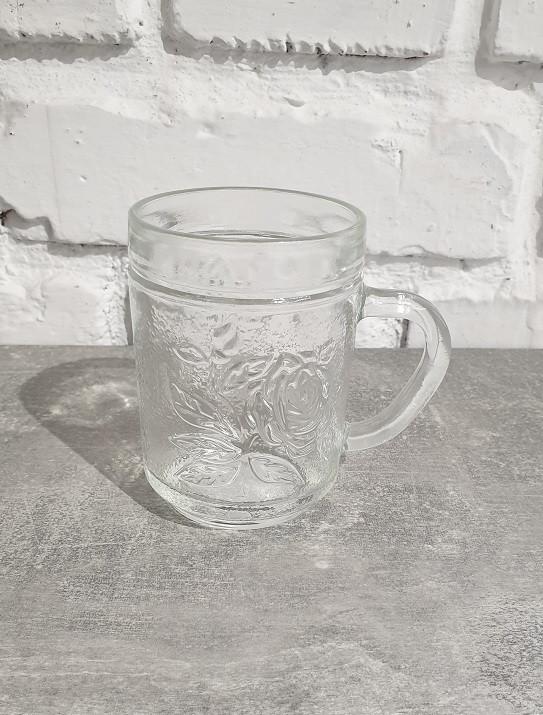 Кружка Vittora Roses 260мл стекло (3260-VT-C/8.34-C74)