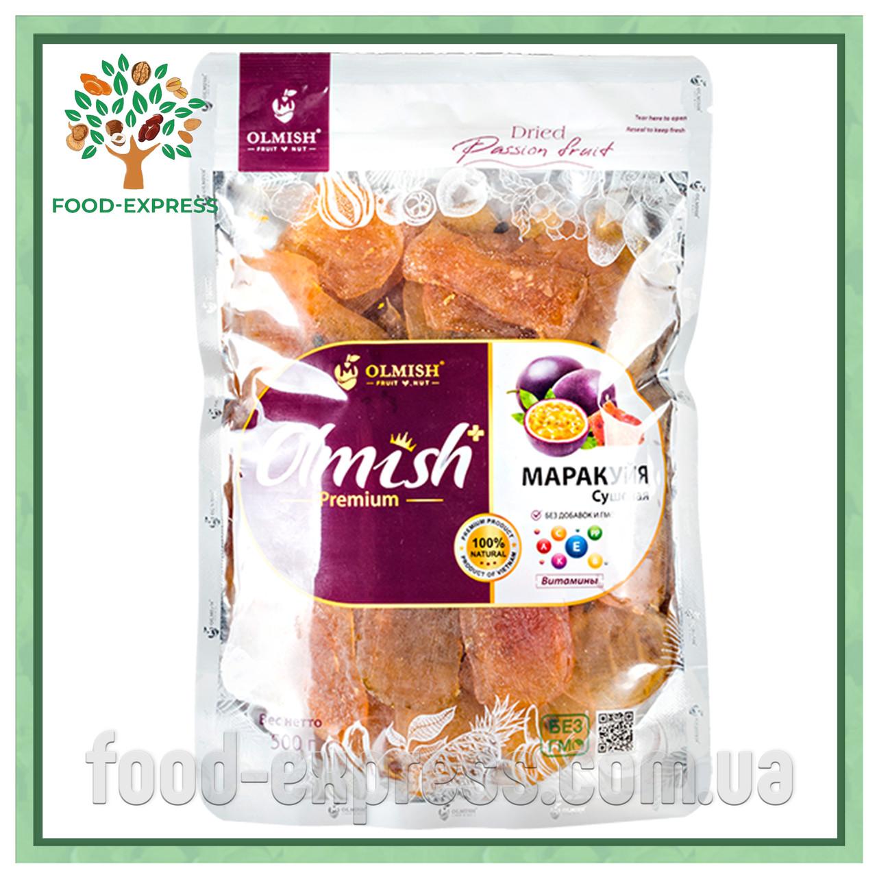 Olmish Маракуйя сушеная Premium натуральный без сахара, 500 г.