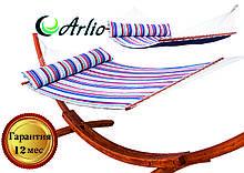 Гамак тканинний Arlio TOLEDO. Сімейний з планкою 3.2 м х 1.5 м