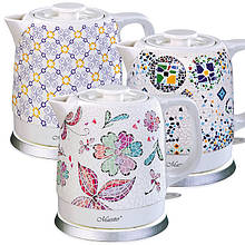 Чайник Maestro 1,5 л кераміка (068 MR)
