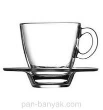 Набір кавовий Pasabahce Aqua 12 предметів 60мл d5,5 см h5,9 см скло (95756)