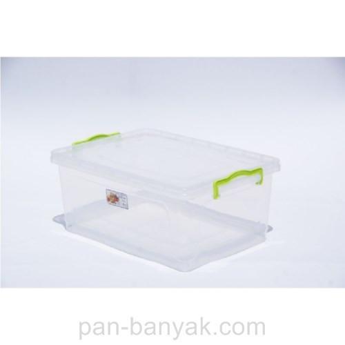 Контейнер для хранения Al-Plastic Lux 17л 45х31,2 см h19 см полипропилен (№8 570774)