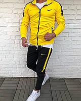 Спортивный костюм желтый найк демисезонный Турция