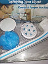 Массажная щетка для тела Spin Spa Brush, фото 2