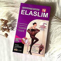Нервущиеся колготки Elaslim (черные)