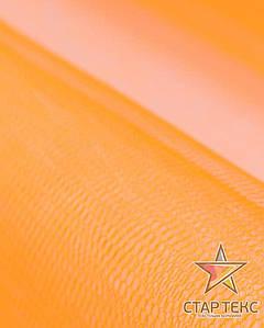 Фатин жесткий темно-оранжевый