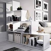Полка лесенка, стеллаж для книг и игрушек, разделитель комнаты G0057