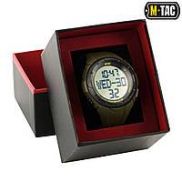 Годинник тактичні з крокоміром M-tac Olive (50001001)
