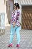 Женский брючный костюм Fashon 48-50, 52-54, 56-58 ,60-62 Батал, фото 7