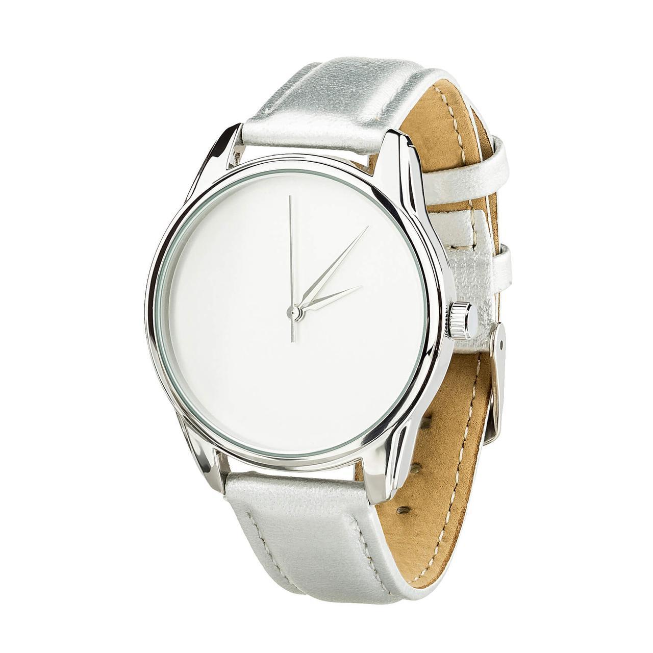 Годинник ZIZ Мінімалізм (ремінець металік, срібло) + додатковий ремінець