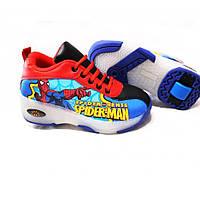 Детские кроссовки с роликом на пятке (34-35 размер) 1265