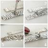 Годинник ZIZ Мінімалізм (ремінець з нержавіючої сталі золото) + додатковий ремінець, фото 4