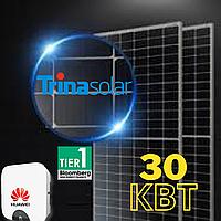"""Мережива сонячна електростанція під """"зелений тариф"""" 30кВт. Можливий кредит"""