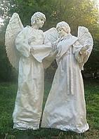 Живые скульптуры Ангелы на свадьбу