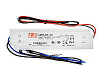 Блок питания 60W 12V IP67 Mean Well, фото 1