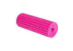 Масажний ролик Blackroll Mini Flow 15 х 5.5 см Рожевий (7742-1)