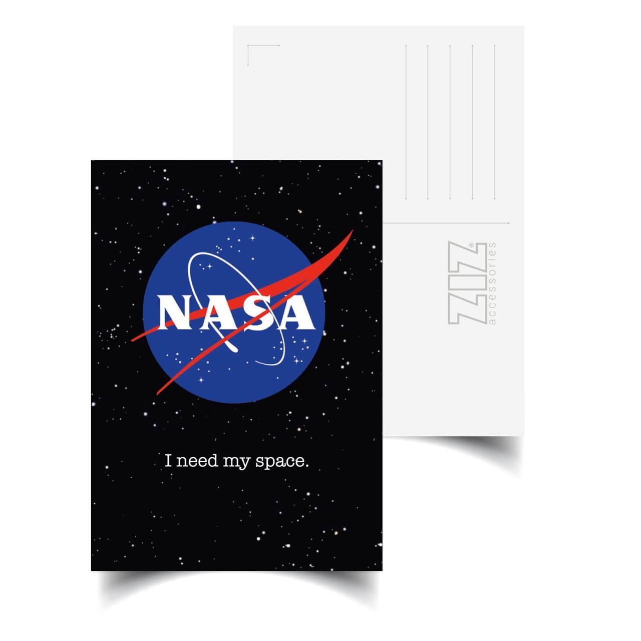 Листівка ZIZ НАСА