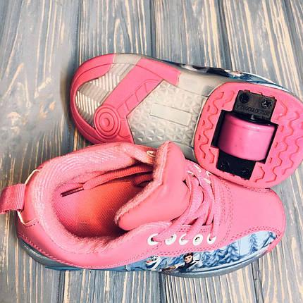 Дитячі кросівки з роликом на п'яті (30-31 розмір) 1263, фото 2