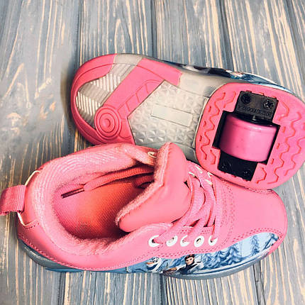 Детские кроссовки с роликом на пятке (32-33 размер) 1263, фото 2