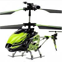 Вертолет 3-к микро и/к WL Toys S929 с автопилотом (зеленый)