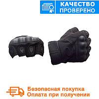 Тактичні рукавички Oakley (Безпалий). - Чорні (oakley-black)