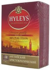 """Чай чёрный Hyleys """"Английский Аристократический""""  100г"""