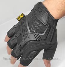 Тактические перчатки Mechanix (Беспалый). -Black (m-pact1-black), фото 3
