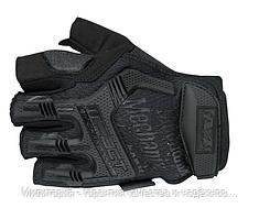 Тактичні рукавички Mechanix (Безпалий). -Black (m-pact1-black)